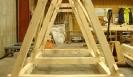 Battering ram in construction