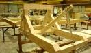 Onagar catapult in construction